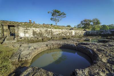 Bagian Situs Candi Ratu Boko