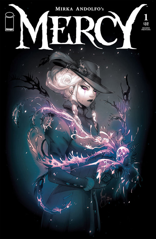 MERCY Reprint Cover Art Revealed and Signing Tour Announced