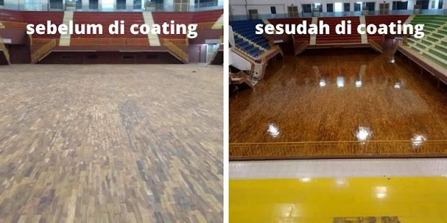 sebelum dan sesudah di coating