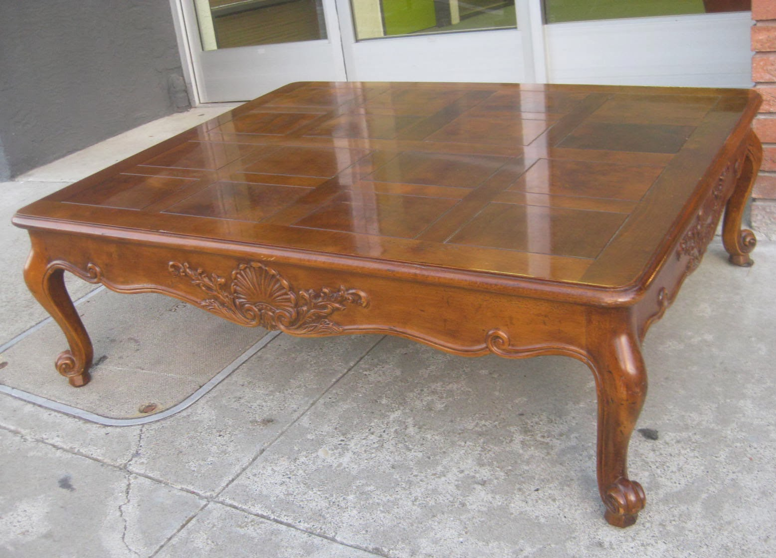 50 Square Coffee Table Uhuru Furniture And Collectibles Sold Large Coffee Table