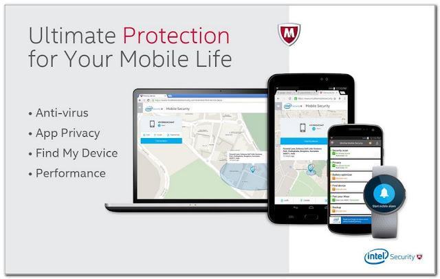 anti virus terbaik McAfee Mobile Security