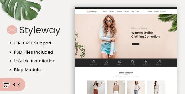 Best Online Fashion OpenCart Responsive Theme