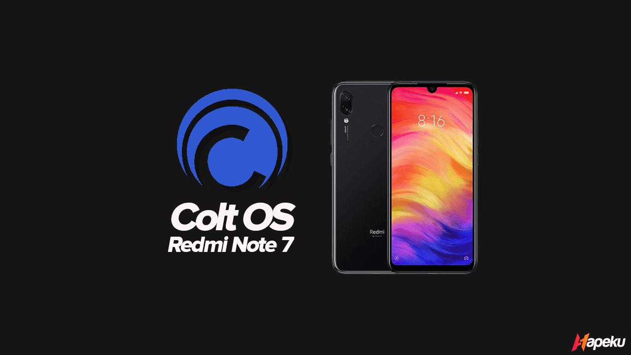 ROM Colt OS Xiaomi Redmi Note 7 ( LAVENDER )