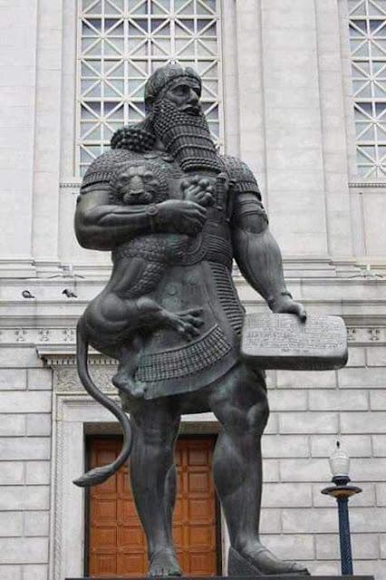 O rei da Babilônia, Hamurabi