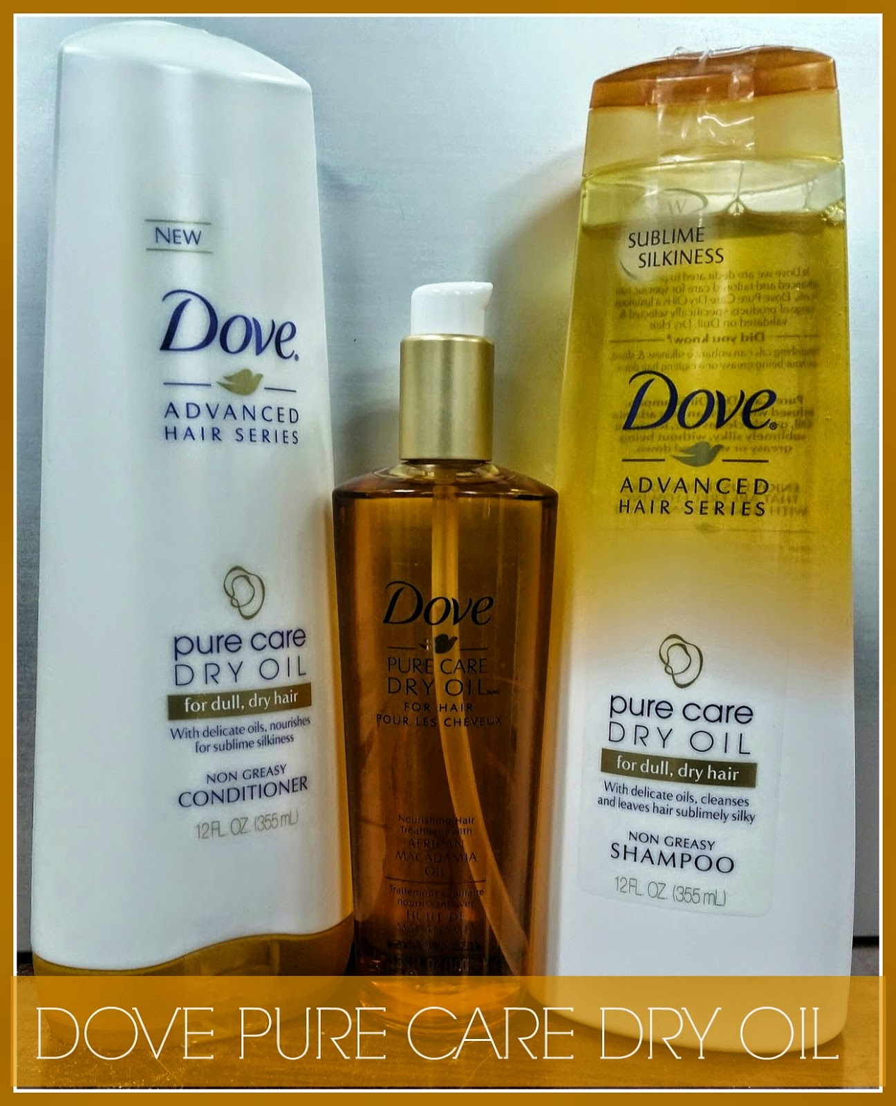 DOVE Pure Care Dry Oil Giveaway!