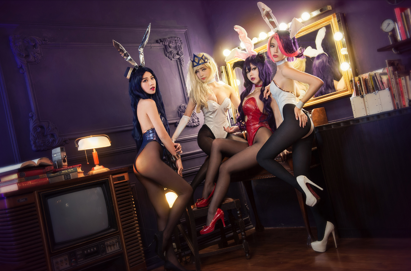 World Of Cosplay: Characters: LOL Bunny Girls / Online ...