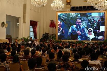 Jokowi Undang Ratusan Nelayan Makan Siang di Istana