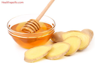 Ginger and Honey for cough relief