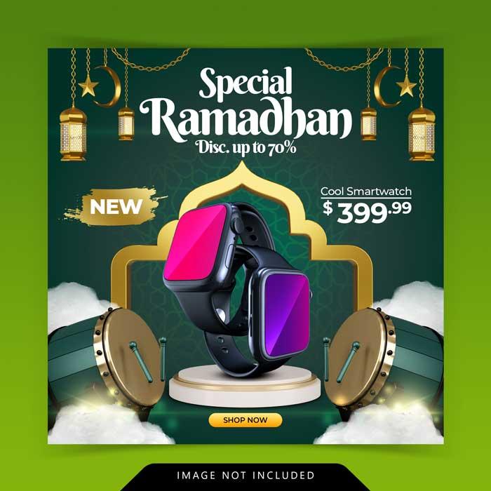 Ramadan Kareem Decoration Islamic Banner