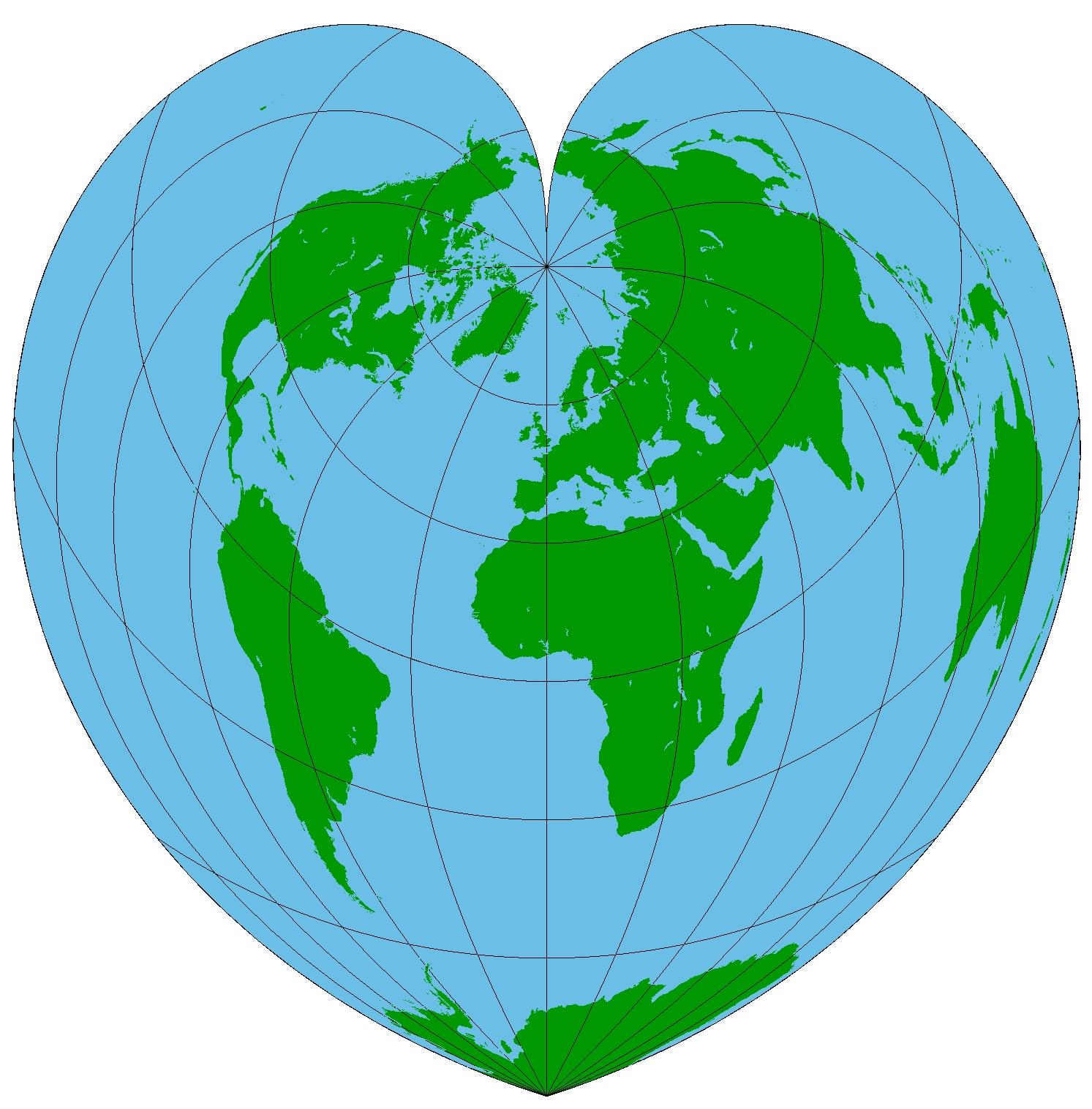 Memahami Teknik Proyeksi Peta | Gurugeografi.id