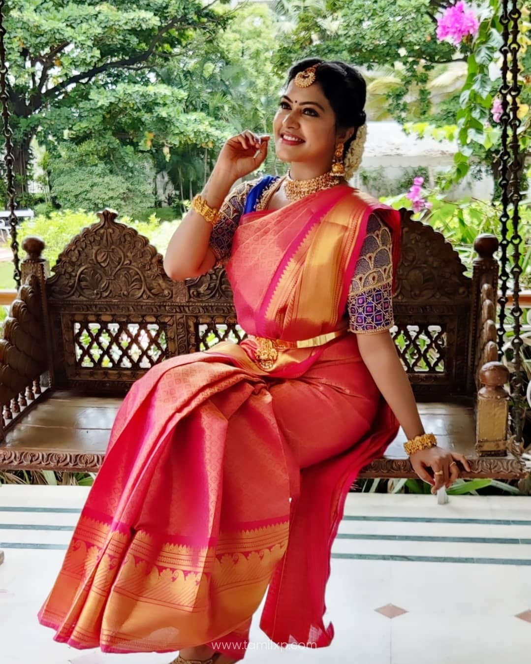 Actress Rachitha Mahalakshmi