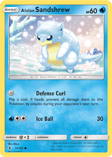 Alolan Sandshrew Guardians Rising Pokemon Card