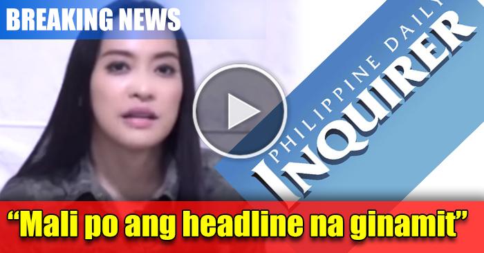 WATCH: Mocha Nagalit Sa Inquirer News. Alamin Kung Bakit