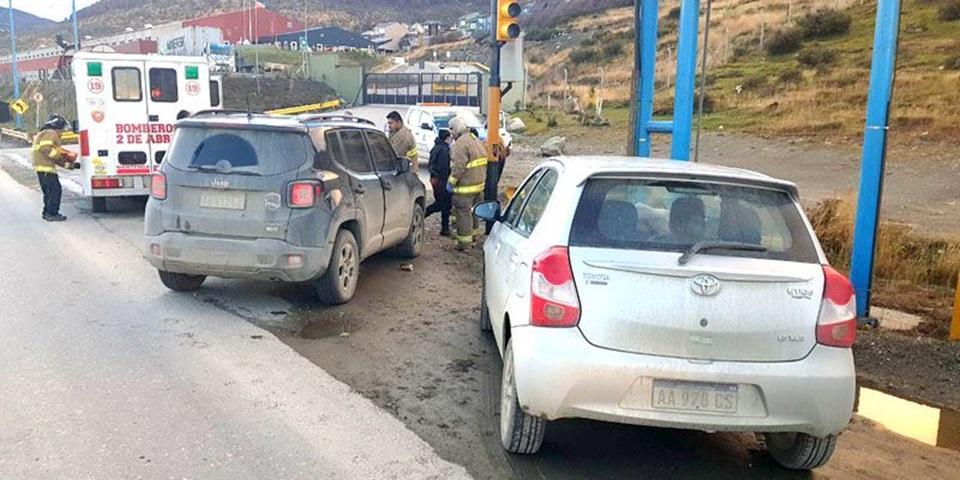 Borracho protagoniza choque en Ushuaia