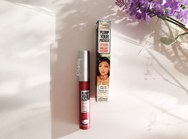 the balm plump your pocker lip gloss elaborate