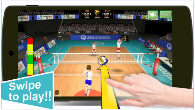 download volleyball champions 3d