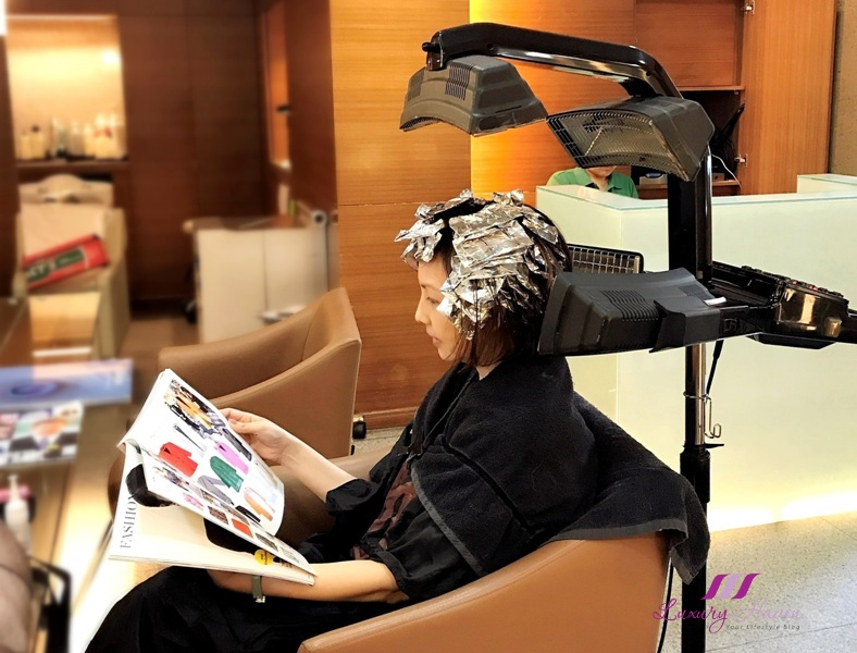 singapore grand hyatt hair salon mosche review