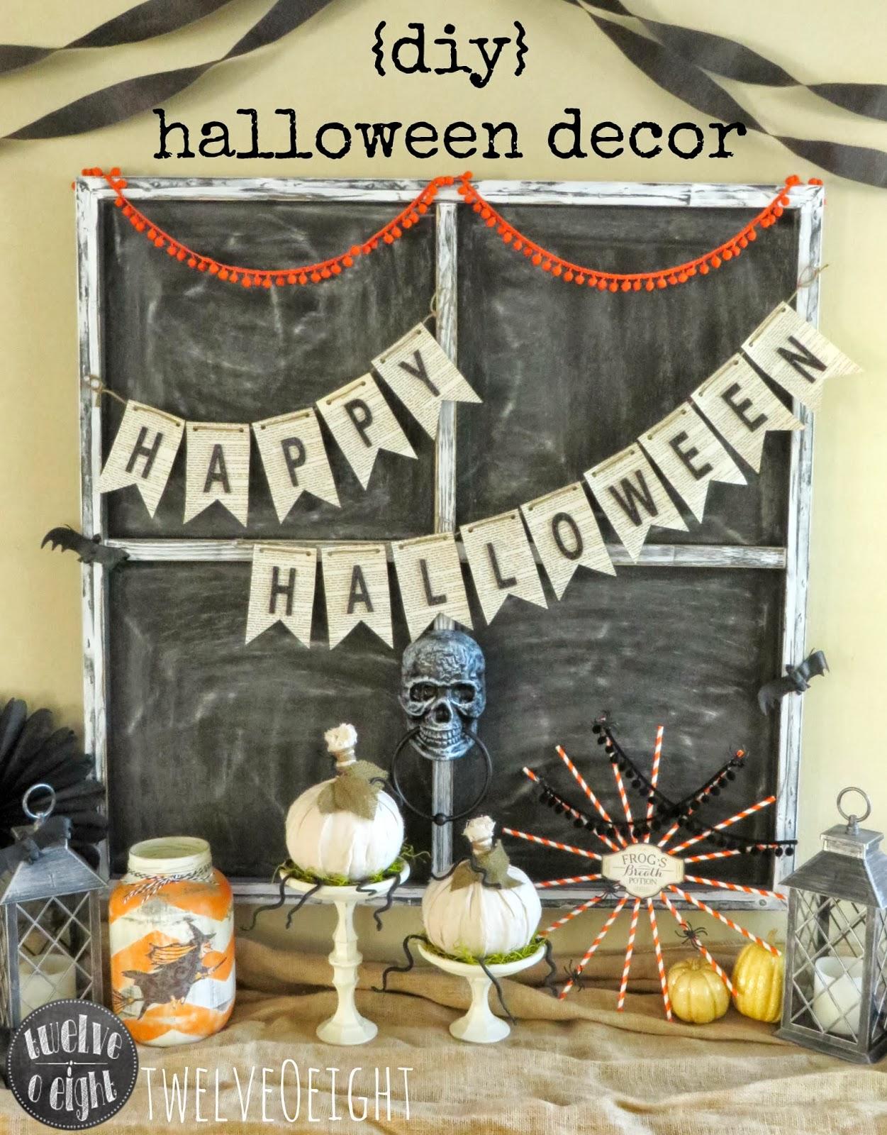 Quick Halloween Decorating Ideas