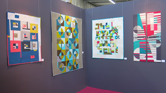 Luna Lovequilts - Modern quilts - My first solo exhibit