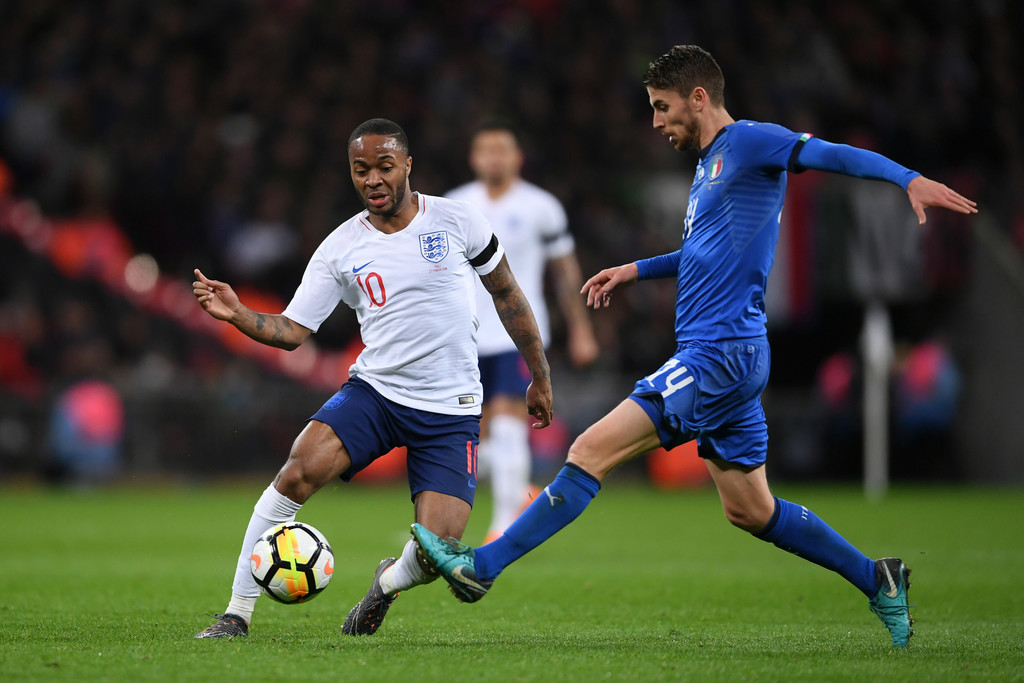 Raheem Sterling and Jorginho has been influential during their nations progress to the final