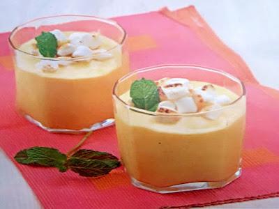 Gambar Resep Smoothies Mangga Marshmallow Untuk Diet