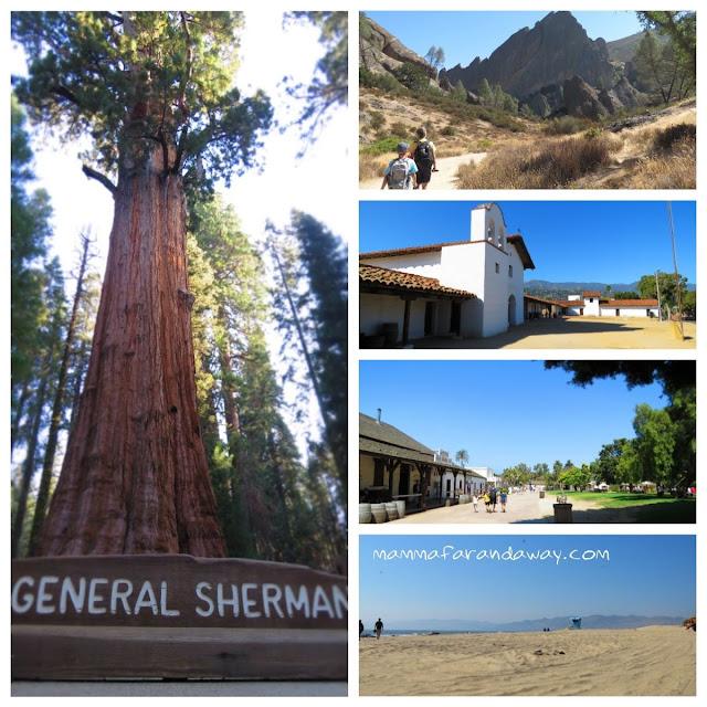 Itinerario di viaggio in california