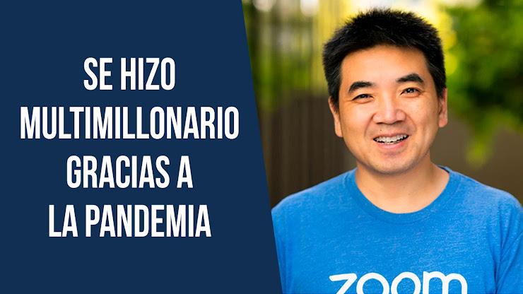 La historia de Eric Yuan, fundador de Zoom