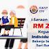 Permohonan i-Saraan KWSP RM250 Kepada Individu Yang Bekerja Sendiri / Suri Rumah