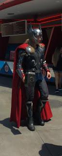 Thor Character Disney California Adventure Summer of Heroes
