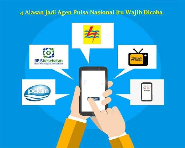 4 Alasan Jadi Agen Pulsa Nasional itu Wajib Dicoba, digital pulsa magetan