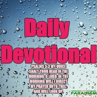 Today's Devotion |Saturday| [ SPIRITUAL IMMUNITY]