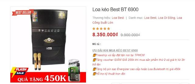 Loa kéo Best Bt 6900