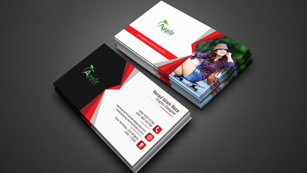 Print Ready Professional Business Card Design - Photoshop Tutorial ...