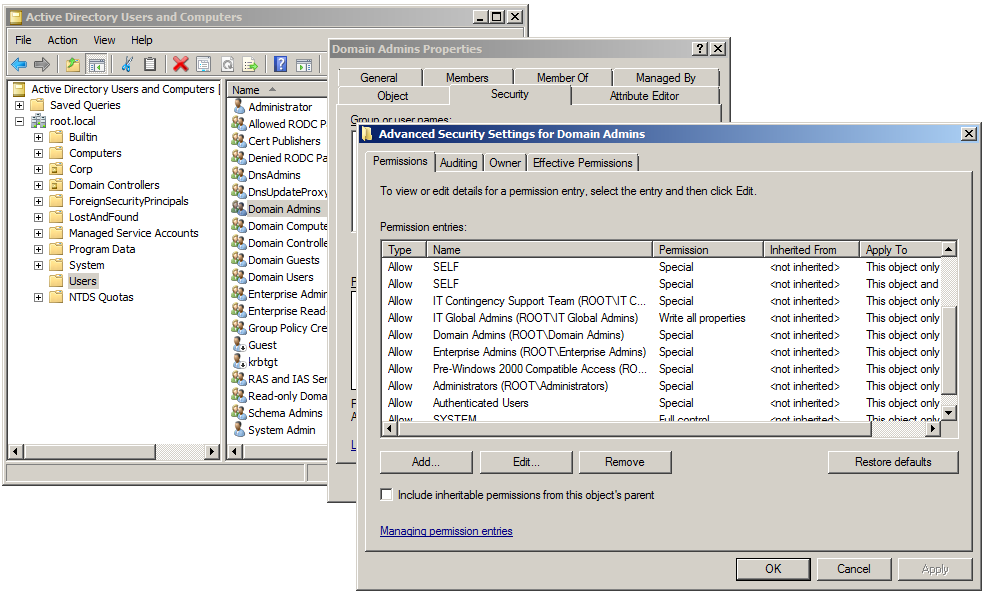 User Accounts, Group Accounts, and Access Control Lists