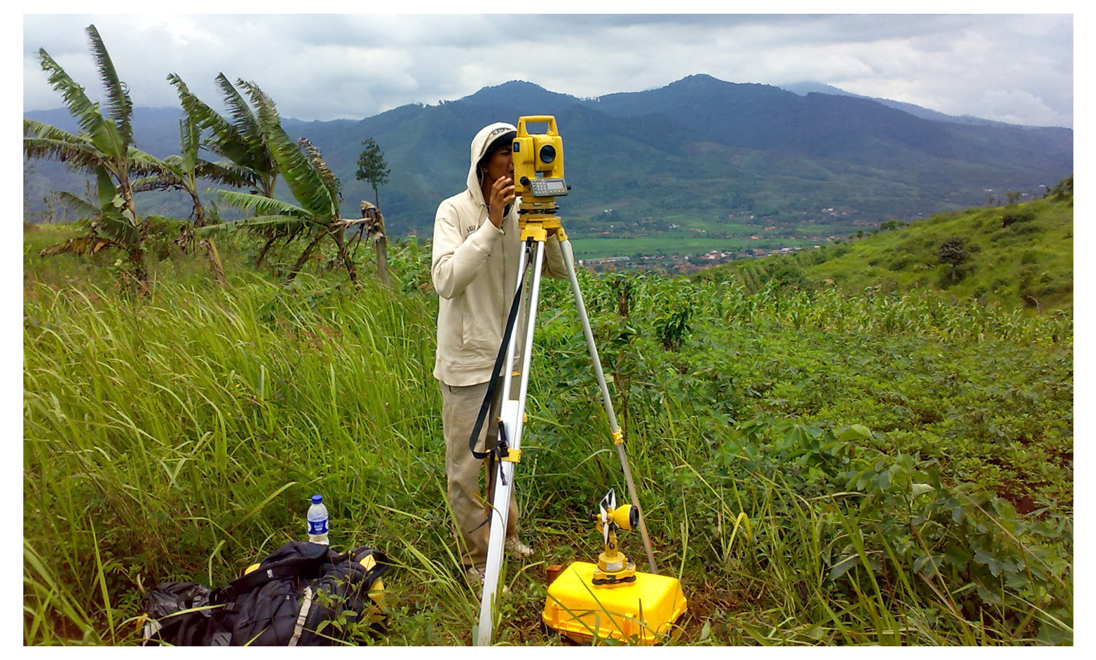 Jasa Pemetaan / Pengukuran Tanah & Topografi di Palu