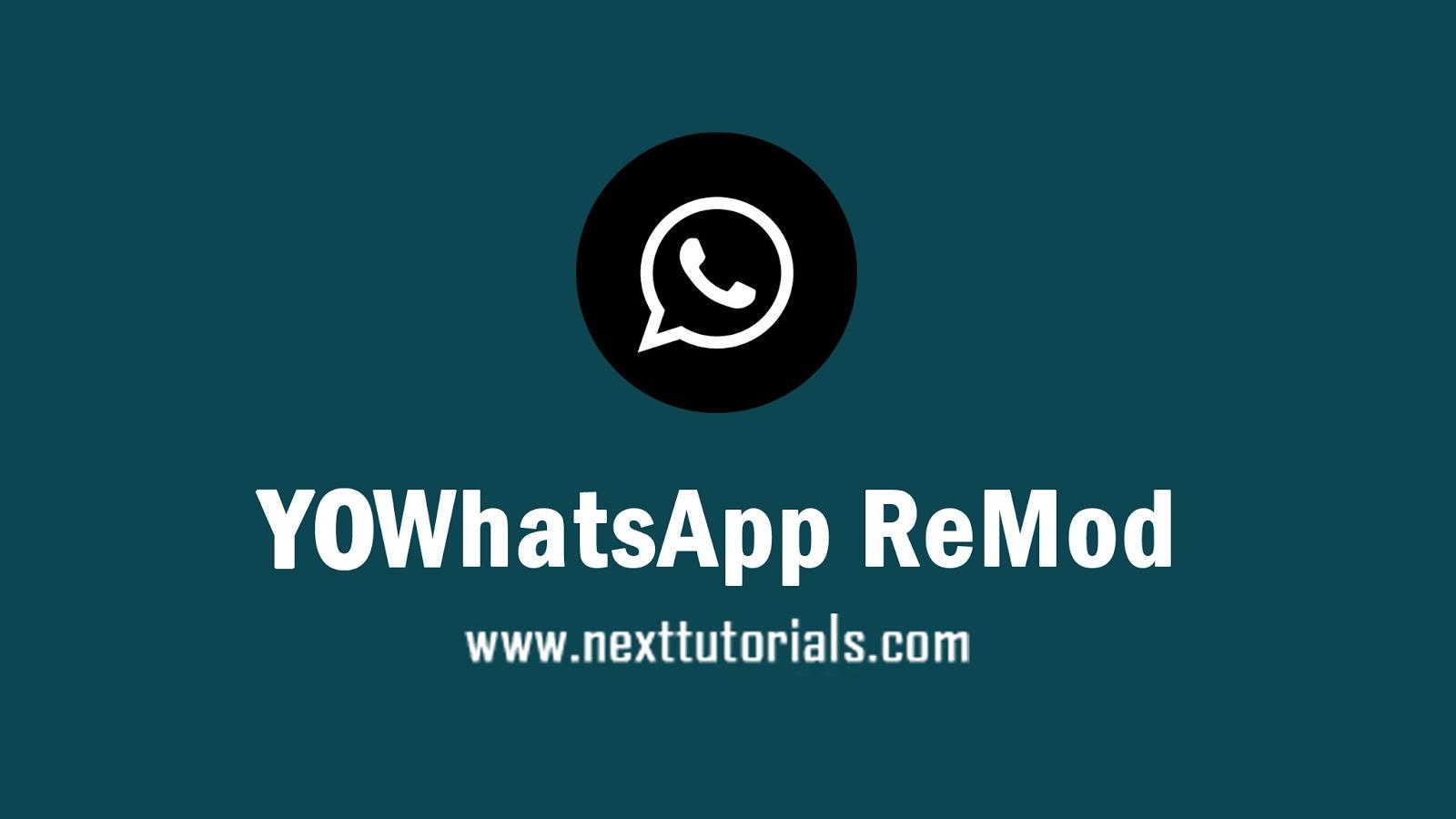 YOWhatsApp ReMod v8.26 C-WhatsApp Transparan Terbaru 2020 ...