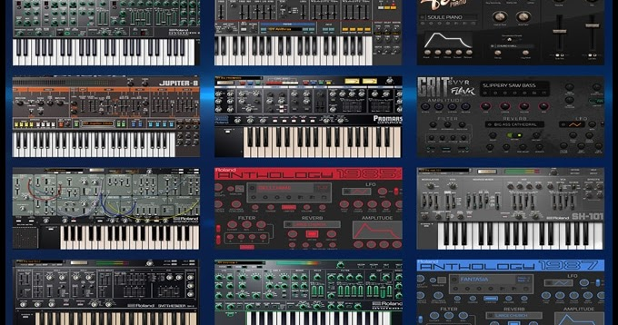 roland srx keyboards vst free download