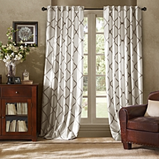Modern Valance Curtains Vintage White Window Curtain