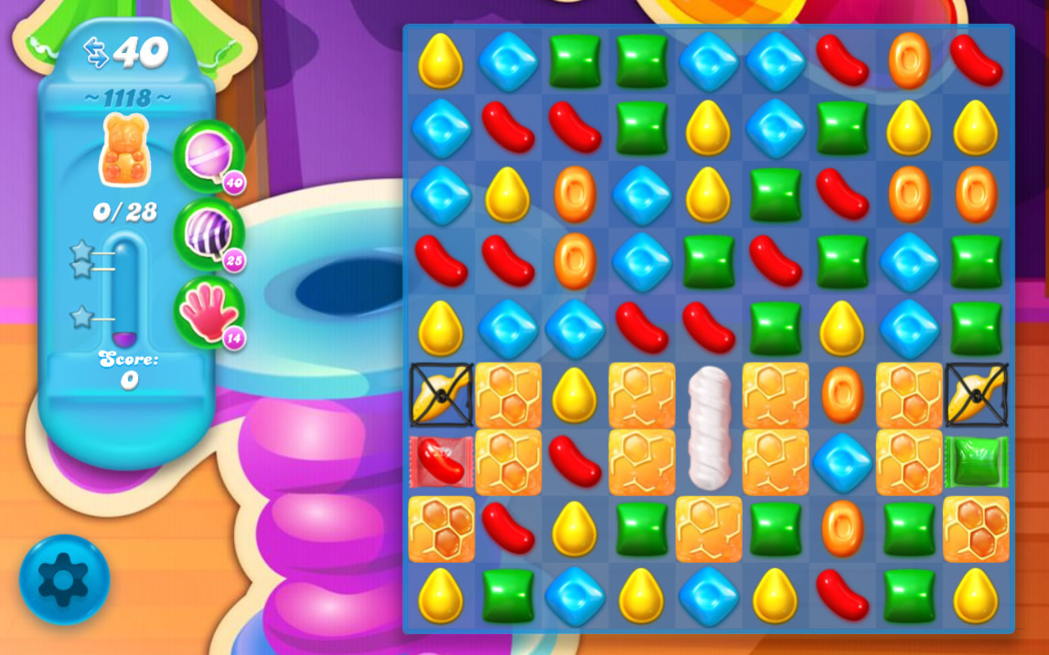 Candy Crush Soda Saga level 1118