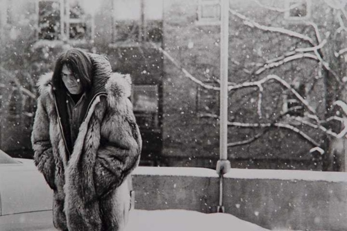 Neil Young im Winter