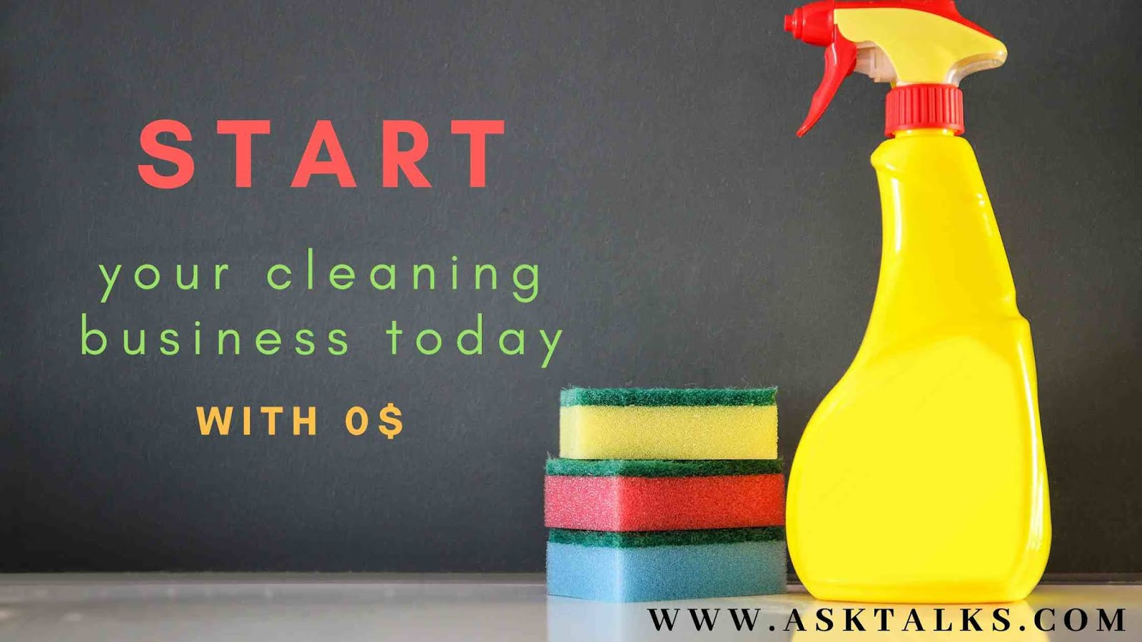 Cleaning business for free in california and in United States
