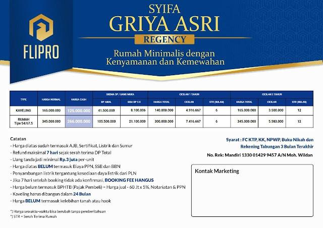 Perumahan Syariah Syifa Griya Asri Atang Sanjaya Bogor