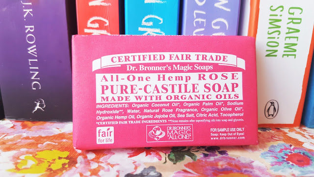 Beauty | Body Brilliance Discovery Box from Naturisimo - Dr Bronner Rose Soap Bar