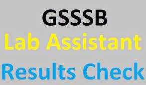 Lab Assistant ADVT. NO. (159/201819) Result Declared 2021