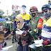 Tetap Ketat Terapkan Protokol Kesehatan, Kodim 0503/Jakarta Barat Kolaborasi Bersama HDCI & Yukata Heya Gelar Baksos dan Gowes Sehat