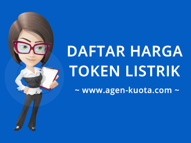 Daftar Harga Token Listrik PLN Prabayar Murah Agen-Kuota.com
