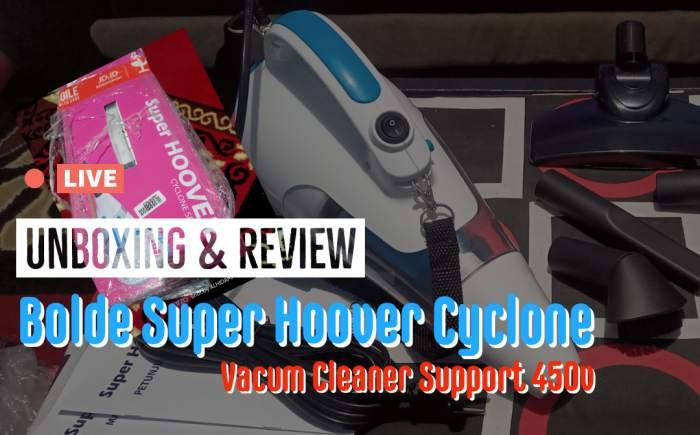 Bolde Super Hoover Cyclone