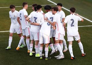 El derbi es blanco. Juvenil A 2-1 Atlético de Madrid.