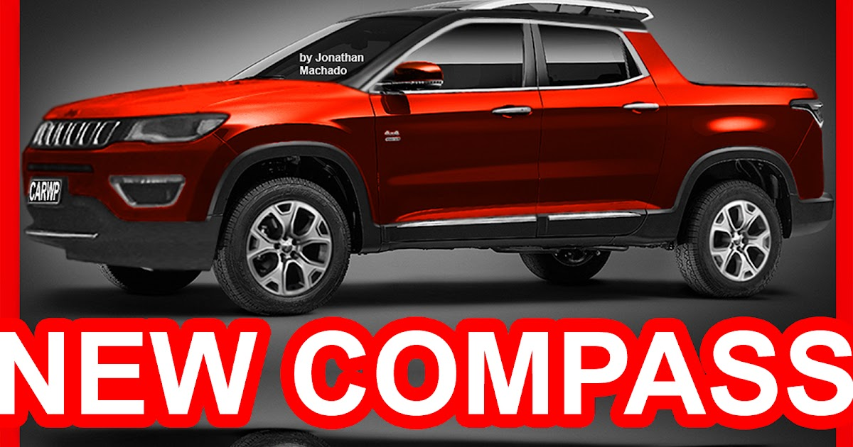 2016 Jeep Pickup >> CARWP: PHOTOSHOP New 2018 Jeep Compass Pickup @ Fiat Toro ...