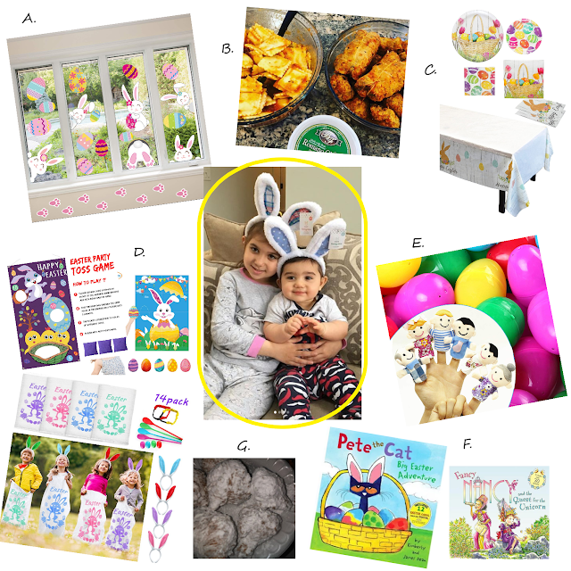 easter party ideas; easter in quarantine; easter during isolation; easter celebration ideas